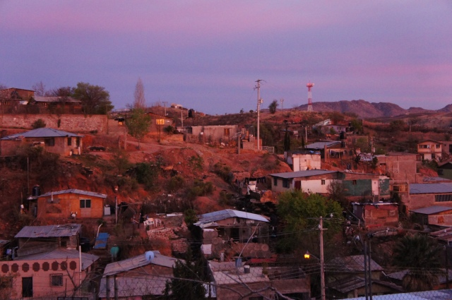 The view of Nogales from HEPAC. Photo credit: Chris Hershberger-Esh