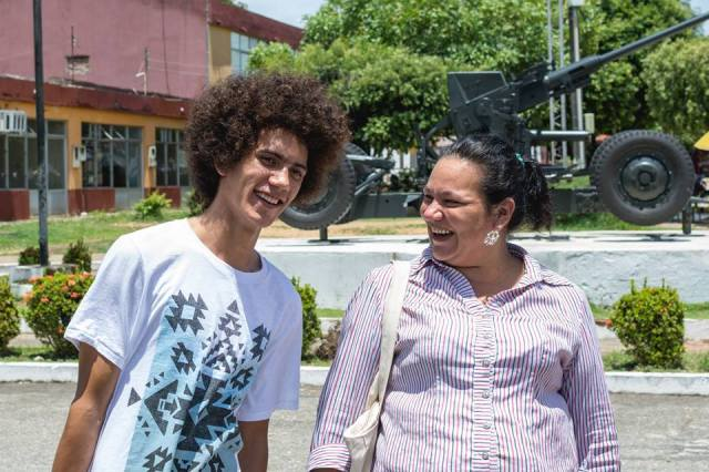 Jhonatan, a conscientious objector in Colombia, was released from jail this week. Photo credit: Christian Peacemaker Teams Colombia.