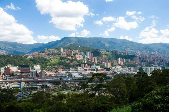 Medellin, Colombia Photo: Anna Vogt