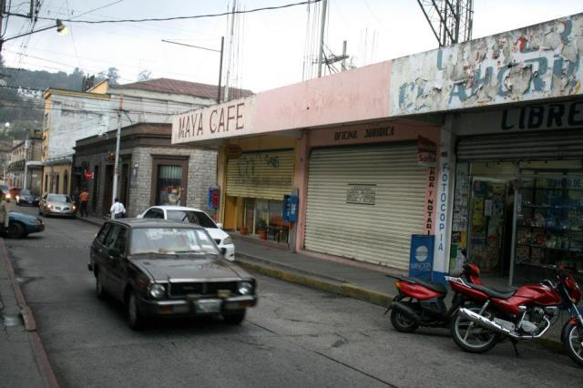 Guatemala streets. Photo: Anna Vogt