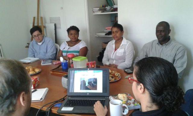 Cali delegation in Quito